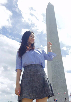 미국 워싱턴 D.C. 워싱턴기념비. (사진 제공: 김나리씨)