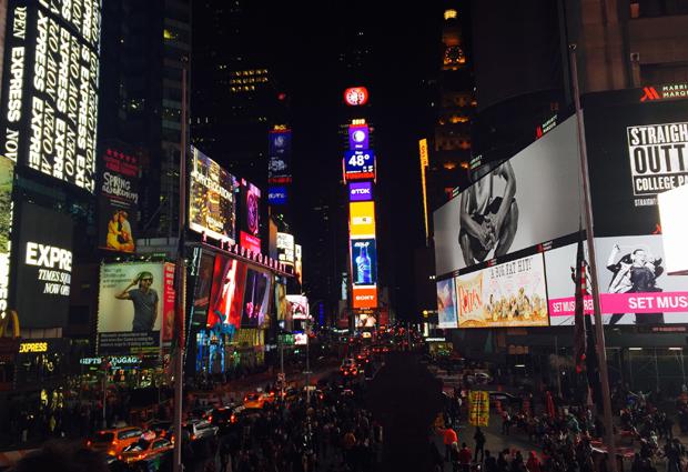 미국 뉴욕 타임스퀘어.