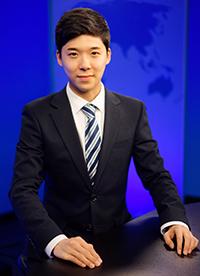 자유아시아방송국에서 인턴과정을 수료한 권도현 인턴기자. (사진제공: RFA Photo)