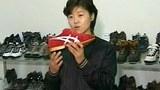 평양 소재 류원신발공장에서 새 형태의 신발을 생산했다고 소개한 제품이 일본의 스포츠 브랜드인 ASICS의 디자인과 매우 비슷하다.