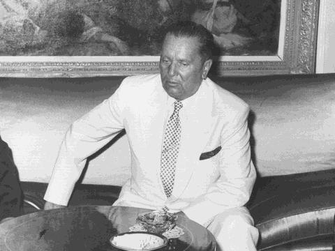요시프 브로즈 티토 전 유고슬라비아 대통령.