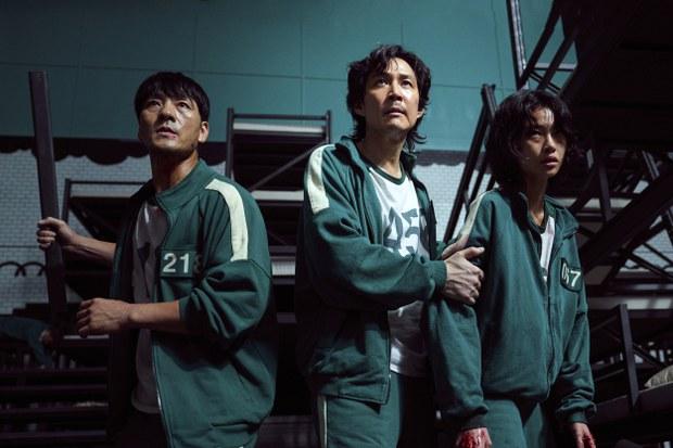 드라마 '오징어 게임'의 한 장면