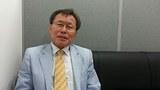 지난 13일 서울 퇴계로 남북장애인교류협회 사무실에서 만난 안광범 회장.