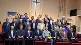 제 47차 나라사랑 기도성회에 참석한 회원들(맨 아래 왼쪽에서 3번째 김택용 회장).
