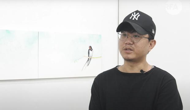 그림으로 말하는 탈북 청년예술가 (2)