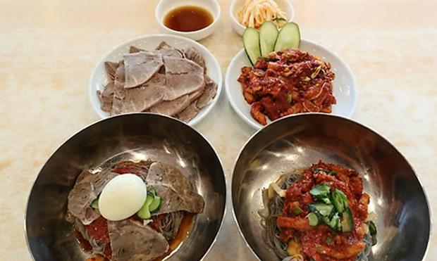 혜산에서 서울 국수 먹는 날