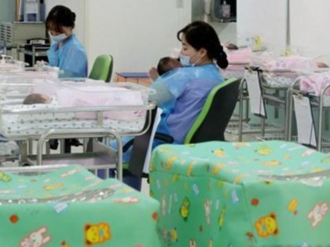사진은 서울 시내 한 산부인과 병원 신생아실.