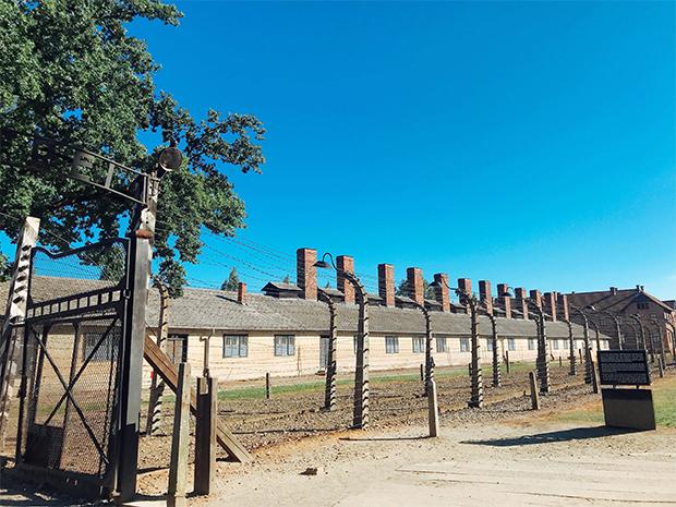 나치 독일이 유태인을 학살하기 위하여 만들었던 강제수용소.