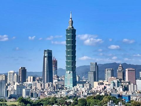 대만의 수도인 타이베이.