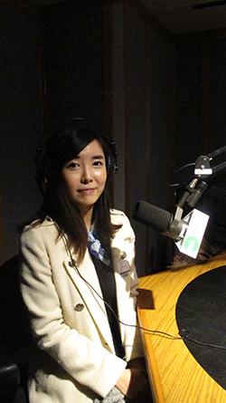 미국의 수도 워싱턴에 있는 민간단체 북한인권위원회에서 북한 인권에 대한 연구 활동을 하고 있는 수습연구원 진용선씨.