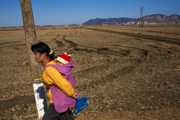 북한인권증진센터의 북한 가정 돕기