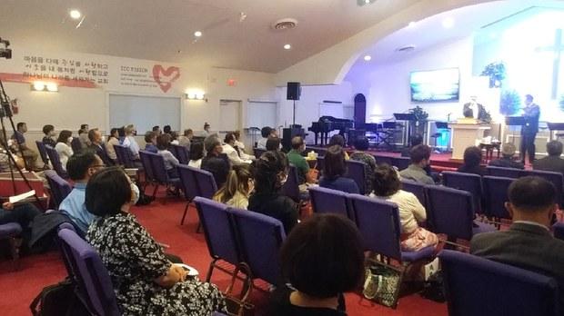 워싱턴 북한선교회 설립 5주년 디아스포라 통일선교연합기도의 날 행사