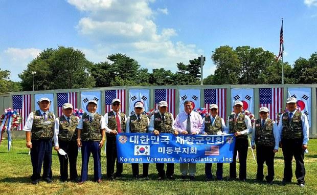 미국에서 열린 7.27 한국전 정전 기념식