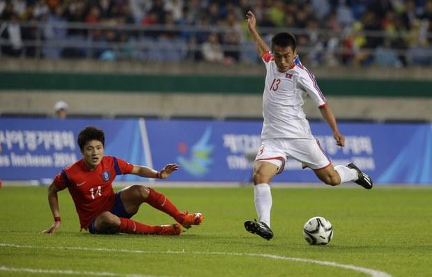 북 남자축구FIFA 랭킹 6위 상승