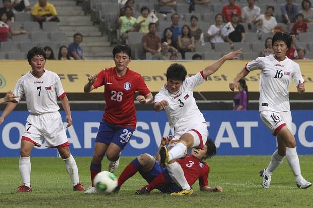 북 여자축구 FIFA 랭킹 한 계단 추락