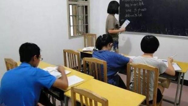 中国监管部门处罚十余家补课机构