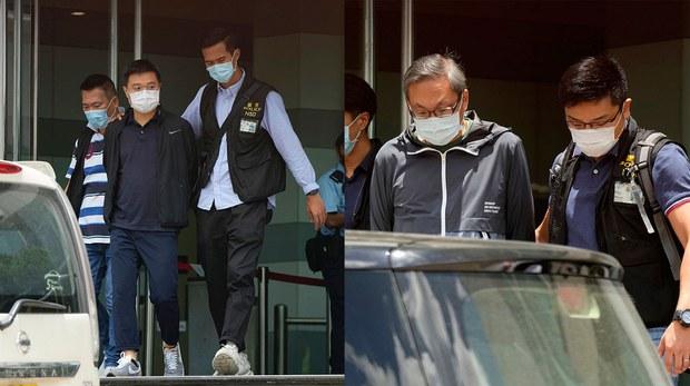 《苹果日报》总编罗伟光、壹传媒行政总裁张剑虹据报遭正式起诉