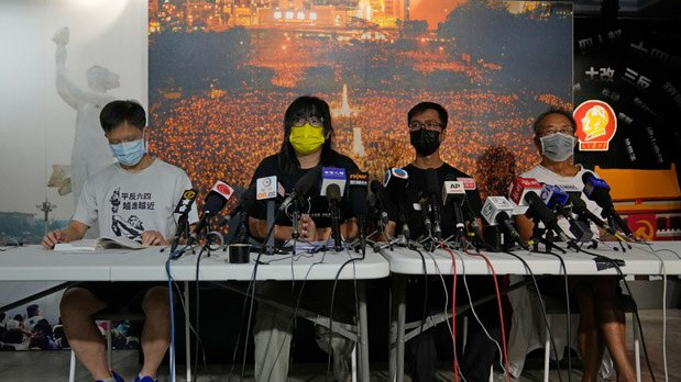 香港支联会拒交资料 否认警方指控