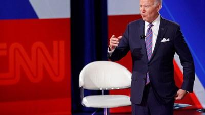2021年10月21日,美国总统拜登出席CNN电视节目,表示如果中国发动攻击,美国将会防卫台湾。