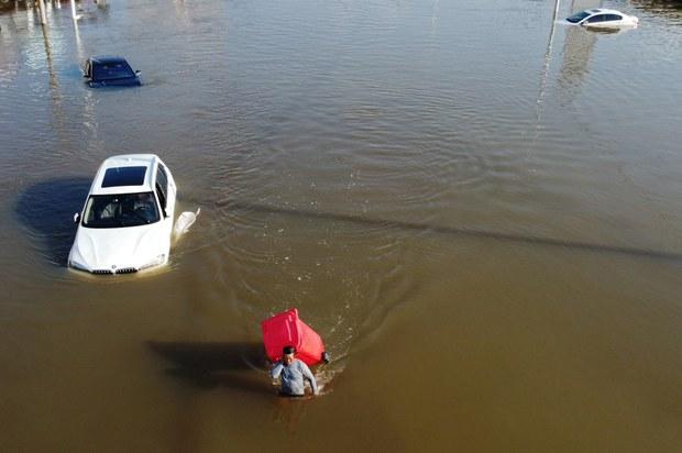 河南水灾死亡人数攀升至63人