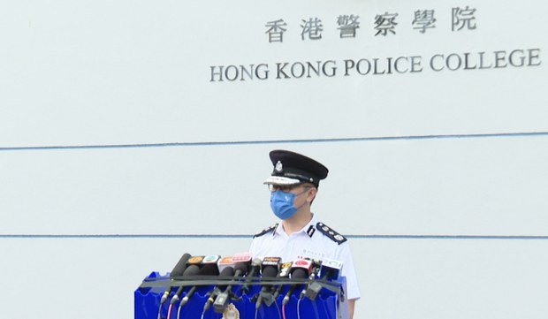 香港选委会周日投票 选民4800 警察逾5000