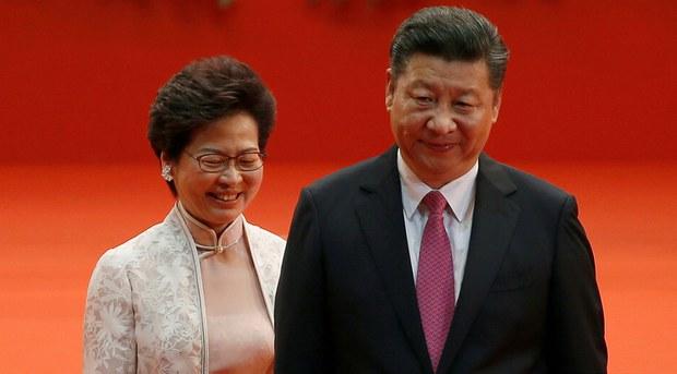 欧洲议会通过决议谴责中国打压香港民运人士   呼吁制裁林郑月娥