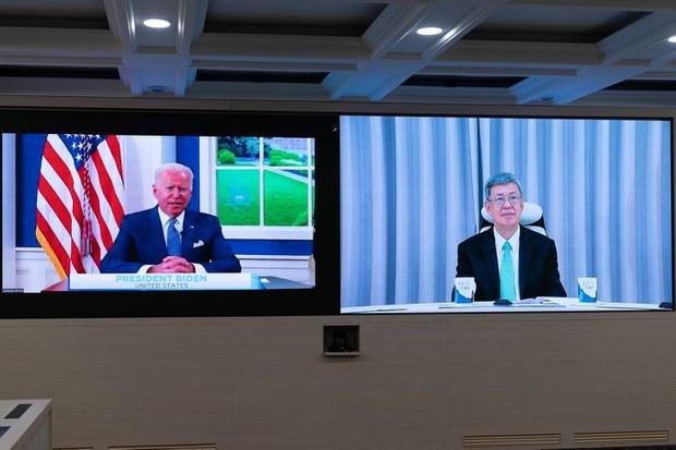 台湾前副总统参与全球COVID-19峰会 承诺未来捐赠疫苗