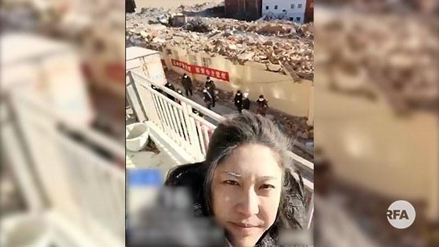 北京香堂村强拆 女公安同遭殃