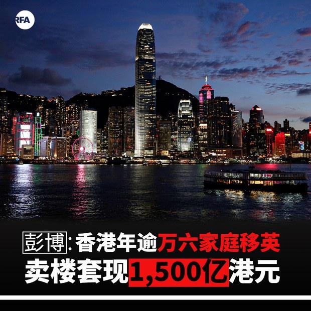 彭博:香港今年逾1.6万家庭移英