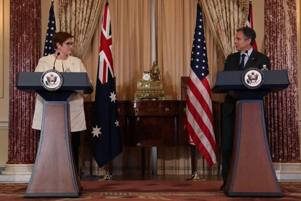 布林肯:不会让澳大利亚独自面对中国经济胁迫
