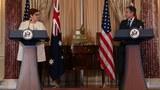 美澳兩國外長在華盛頓會晤