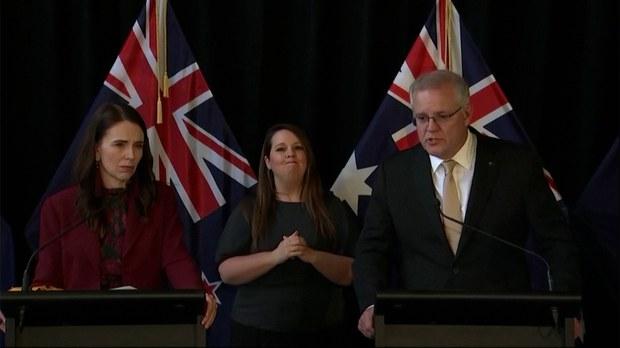 澳大利亞和新西蘭總理強調人權立場雙方一致