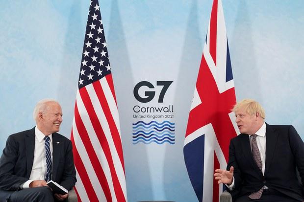 美、英簽署新版《大西洋憲章》應對中、俄威脅
