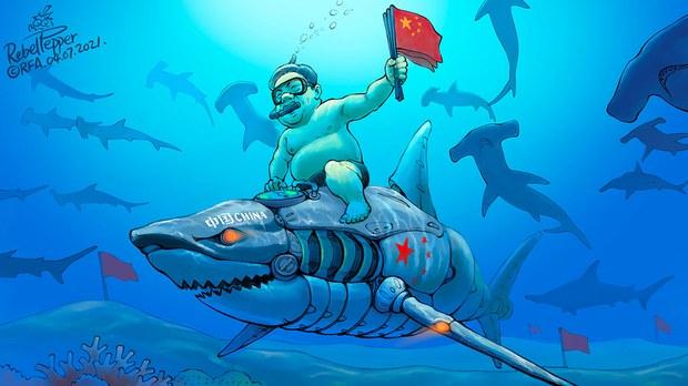 变态辣椒:帮助习近平到南中国海
