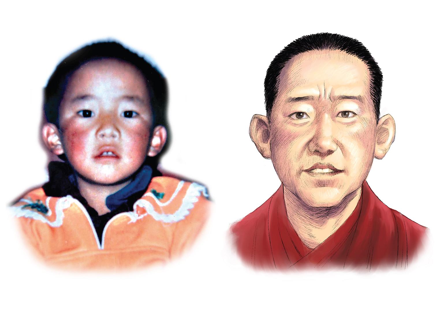 4月25日是失踪24年的十一世班禅喇嘛根敦确吉尼玛的生日,世人只有他儿童时代的一张照片。(变态辣椒)