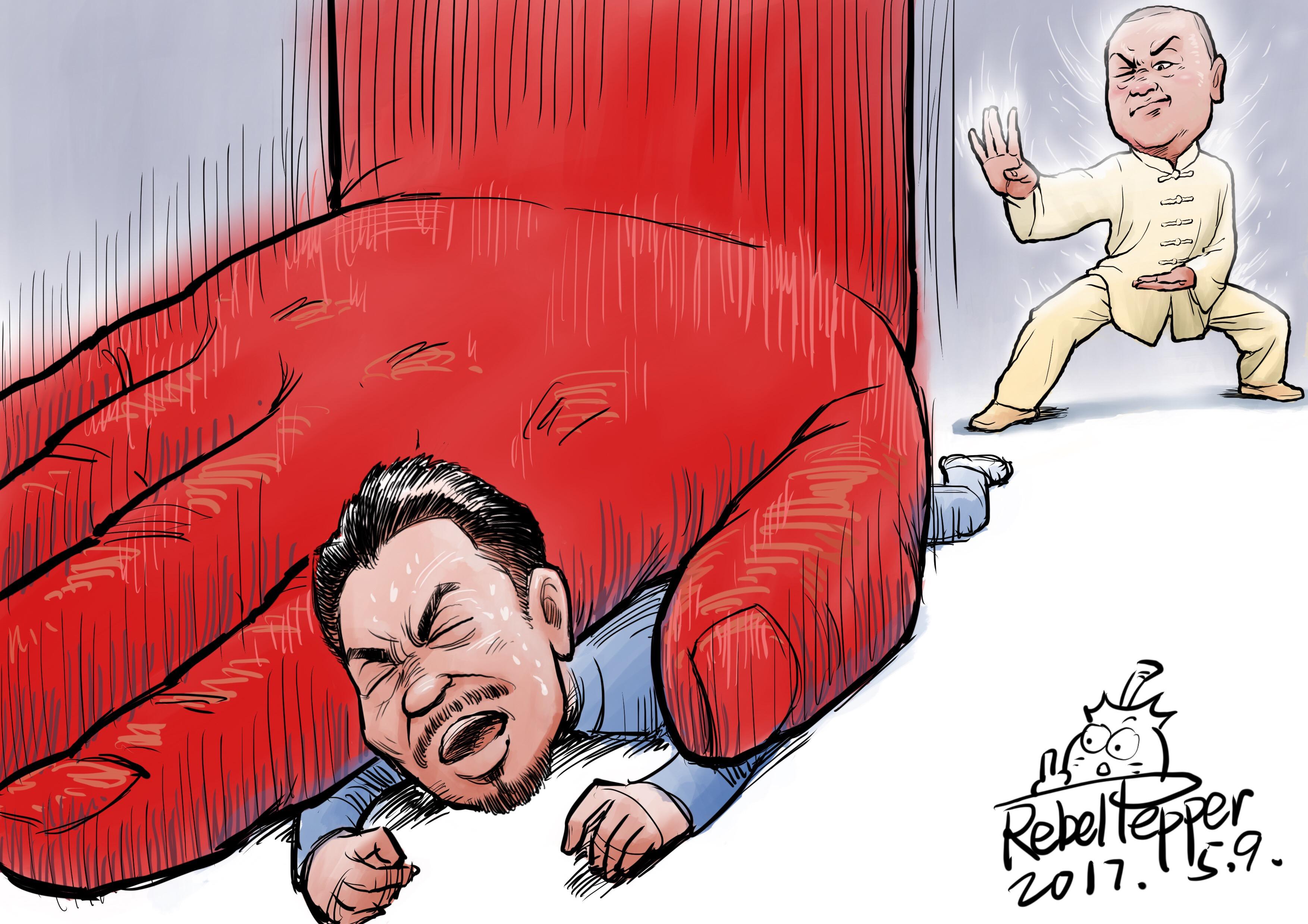 中国武协的声明仅仅是开始,不久徐晓冬就称接到成都警方传唤,要对他的约战事件进行调查。(变态辣椒)