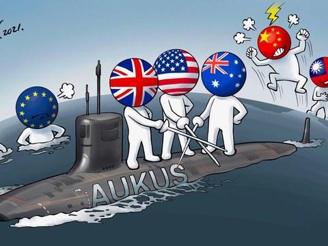 變態辣椒:澳英美簽署新安全協議