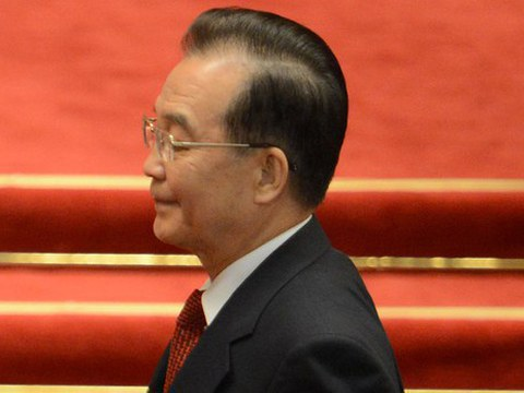中国前总理温家宝。