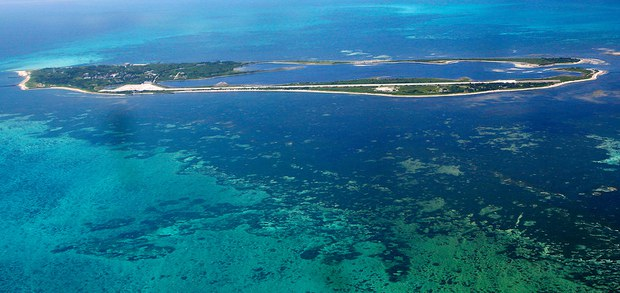 东沙群岛。(路透社图片)