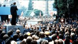 波蘭團結工會抗議活動現場。(Public Domain)