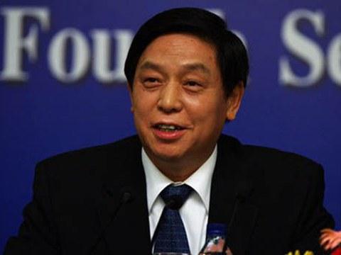 中国人大委员长栗战书。