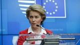 欧盟执委会主席冯德莱恩(Ursula von der Leyen)。(法新社)