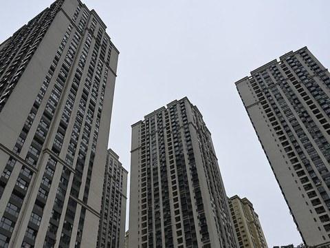 2021 年 10 月 23 日, 中國恆大集團在昆明開發的一處住宅區。