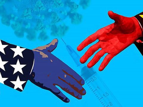 2月22日,美国新冠病毒死亡人数突破50万。中国官方媒体称,这证明美式人权的破产。