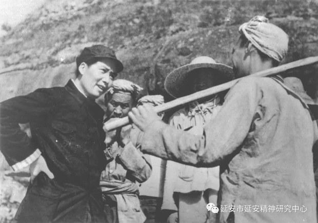 评论   胡平:毛泽东为何从不回延安?