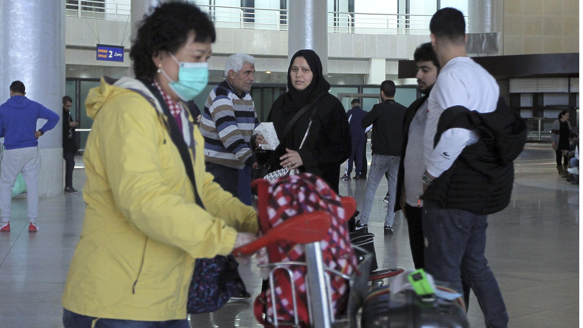 2020年2月3日,阿尔及利亚从中国武汉等地撤回侨民。(美联社)