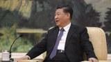 2020年1月28日,中国国家主席习近平会见世界卫生组织秘书长谭德塞。(美联社/资料图片)