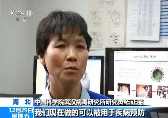 武汉病毒研究所的研究员石正丽。(视频截图)