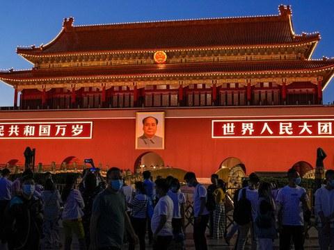 中共准备一百周年庆典。