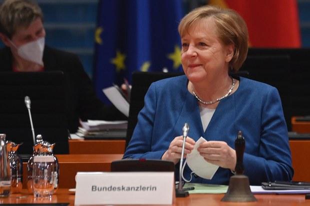 德国总理默克尔在中欧投资协定谈判中扮演重要角色。(AFP)